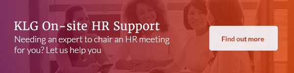 Chairing HR Meetings | On-site HR Support